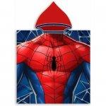 Poncho cu gluga Spiderman 50x100 cm SunCity