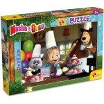 Puzzle distractie in bucatarie cu Masha si Ursul 24 piese