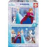 Puzzle Educa Frozen 2x48 piese