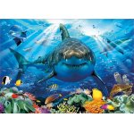 Puzzle Educa Great White Shark 500 piese include lipici