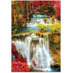 Puzzle Educa Waterfall in deep Forest 1.000 piese