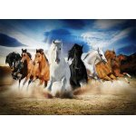Puzzle Gold Puzzle Full Speed Gallop 2000 piese