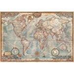 Puzzle mini Educa Ancient World Map 1000 piese include lipici puzzle
