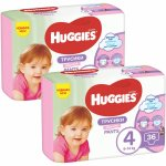 Scutece-chilotel Huggies Virtual Pack 4 Girl  9-14 kg, 72 buc