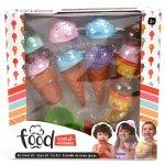 Set creatie inghetata la pahar si cornet pentru copii