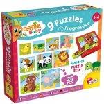 Set puzzle-uri progresive Animalute