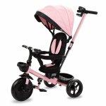 Tricicleta cu sezut rotativ si roti cu spuma EVA Kidwell Axel roz
