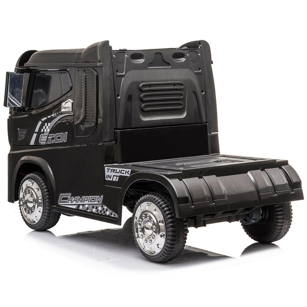 Autocamion Tir electric pentru copii negru
