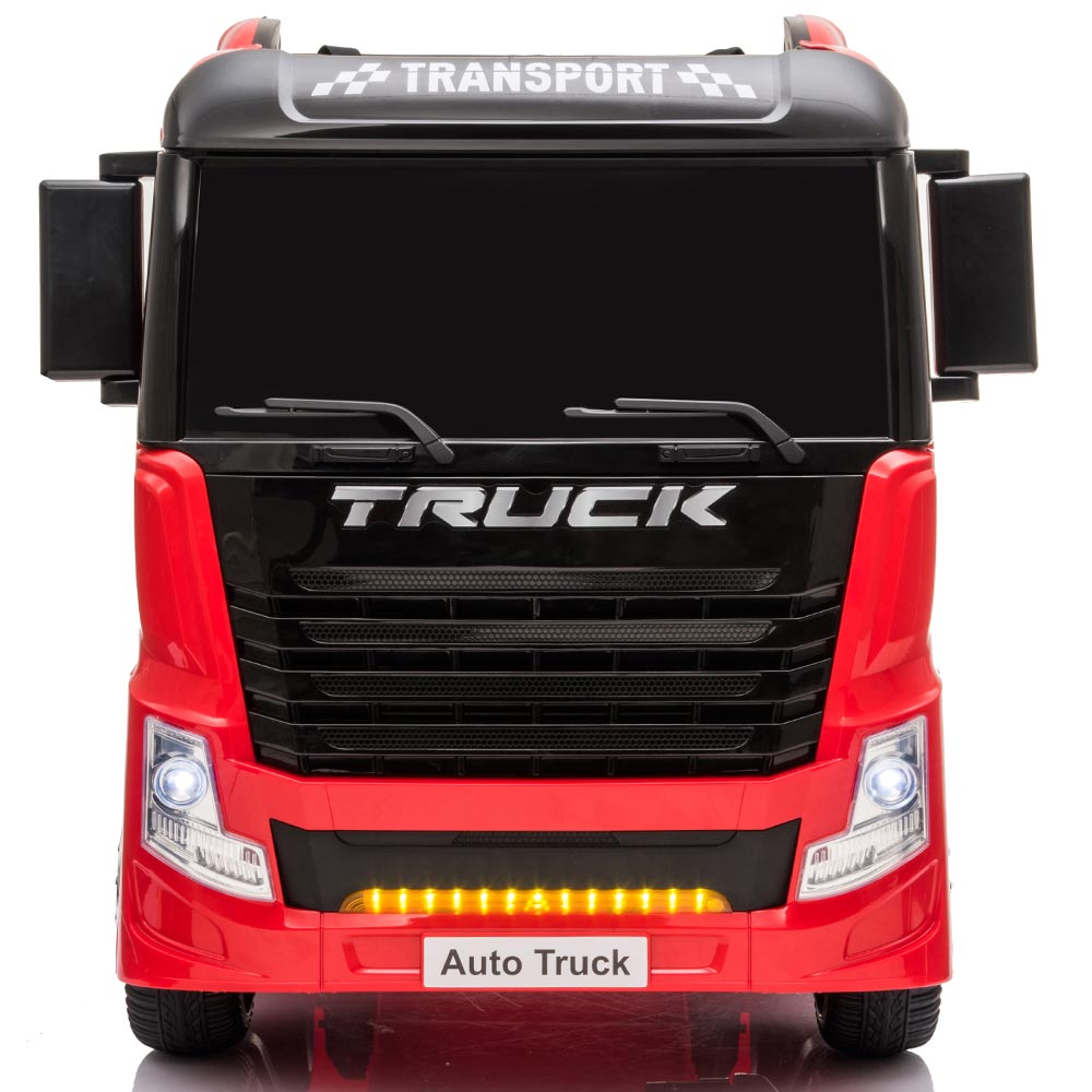 Autocamion Tir electric pentru copii rosu