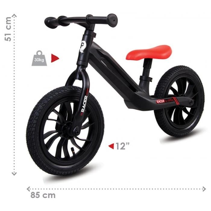 Bicicleta fara pedale Sun Baby 015 Racer Black - 3