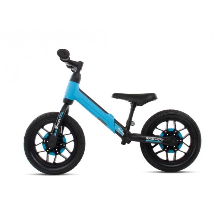 Bicicleta fara pedale si roti cu LED Sun Baby 017 Spark Blue