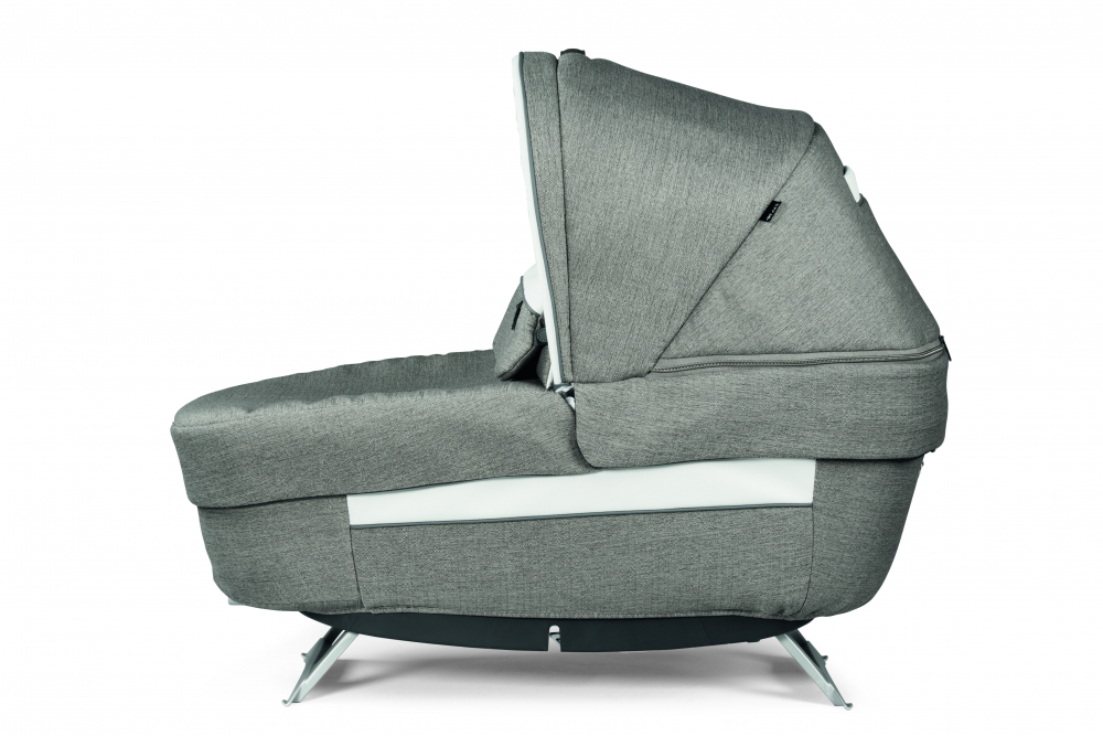 Carucior 3 in 1 Peg Perego Book Lounge 0 - 22 kg City Grey Gri Alb - 3