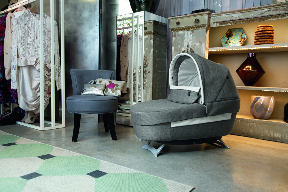 Carucior 3 in 1 Peg Perego Book Lounge 0 - 22 kg City Grey Gri Alb - 4