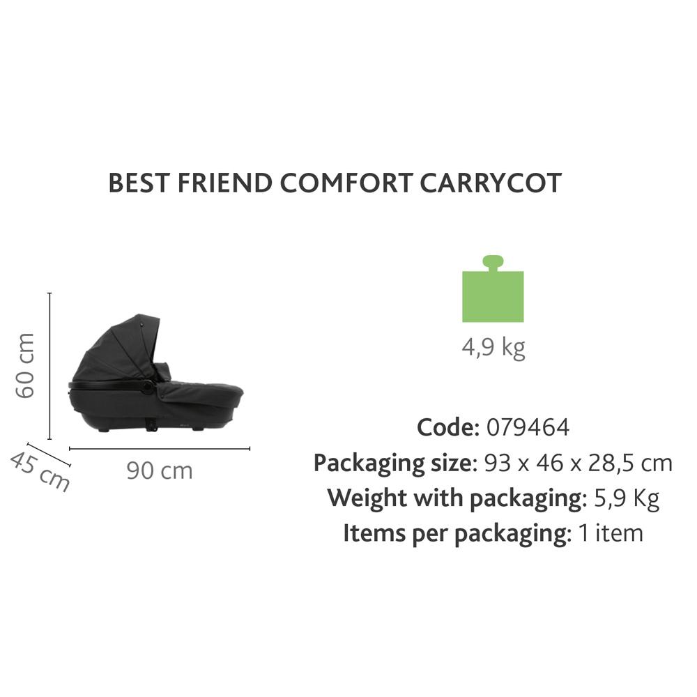 Carucior copii duo Chicco Best Friend Plus Comfort SilverLeaf 0 luni+ - 3