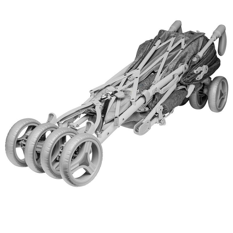 Carucior sport Irma Grey Dark Grey Lionelo - 3