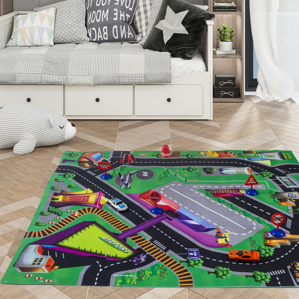 Covor copii tineret Tapis de Jeu Aeroport 70x80