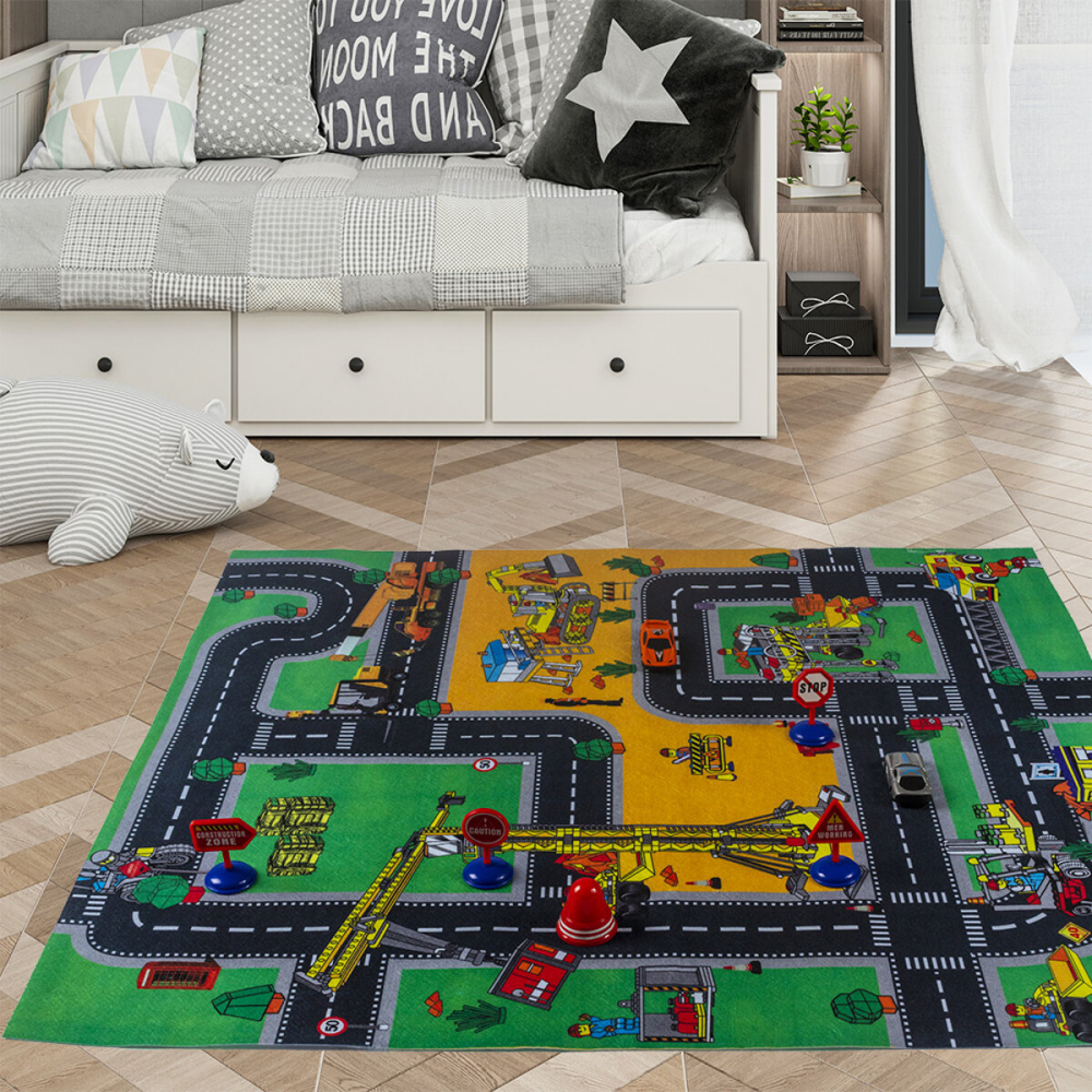 Covor copii tineret Tapis de Jeu Santier 70x80