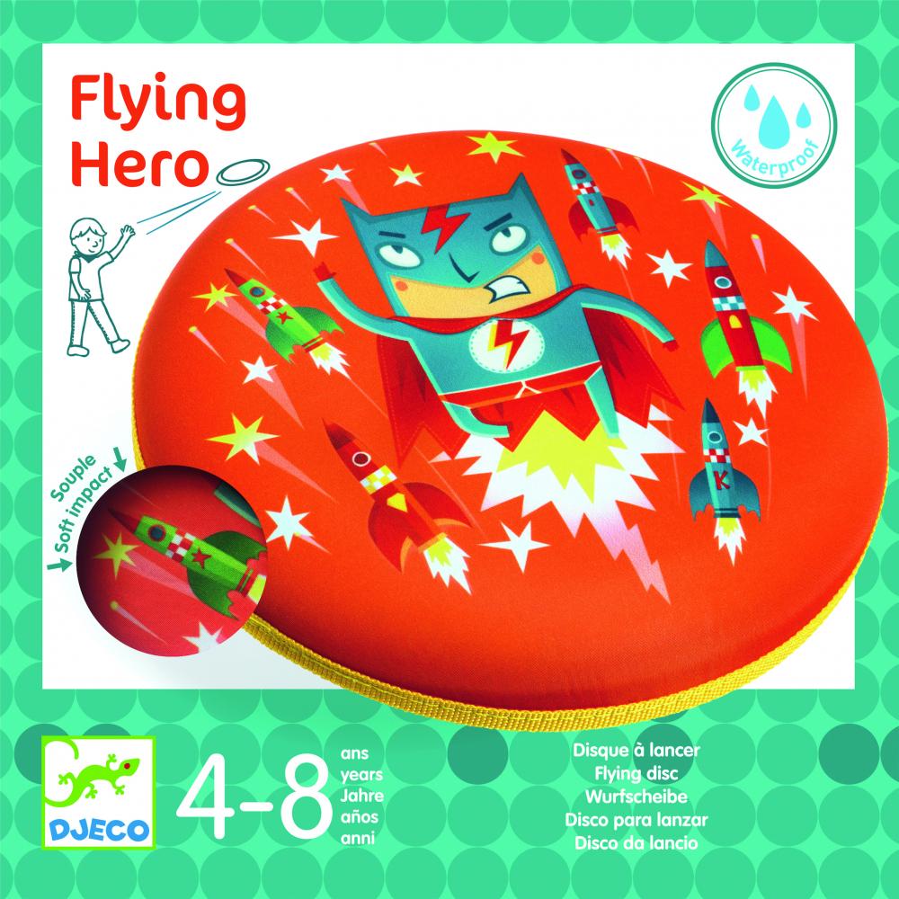 Disc frisbee Djeco Erou in zbor