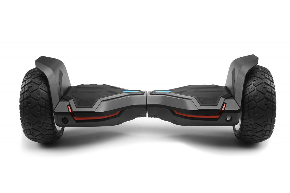 Hoverboard off road puternic original Gyroor G2 Warrior roti 8.5 inch leduri si lumini