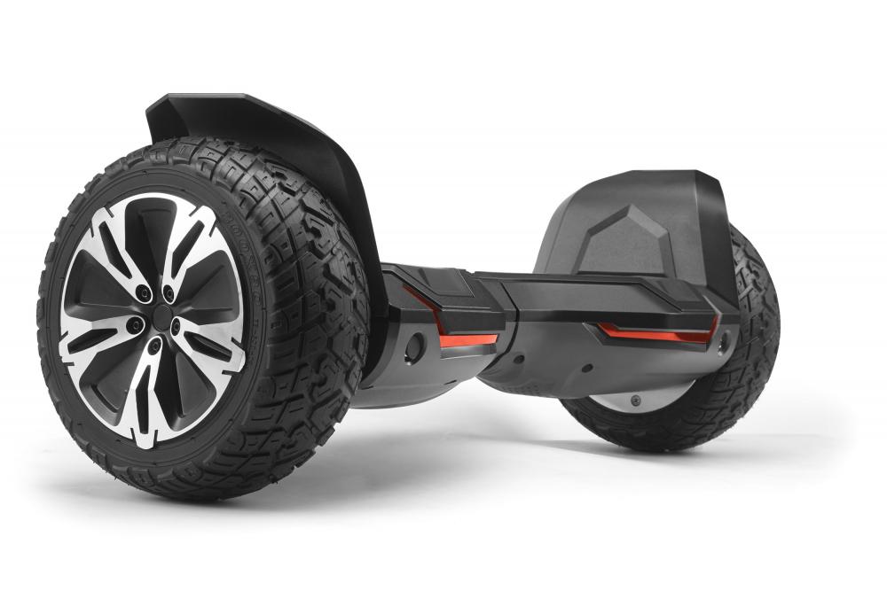 Hoverboard off road puternic original Gyroor G2 Warrior roti 8.5 inch leduri si lumini - 1