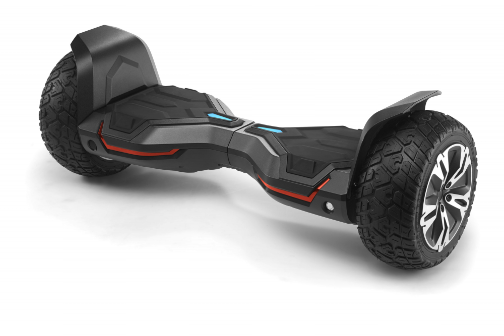 Hoverboard off road puternic original Gyroor G2 Warrior roti 8.5 inch leduri si lumini - 3
