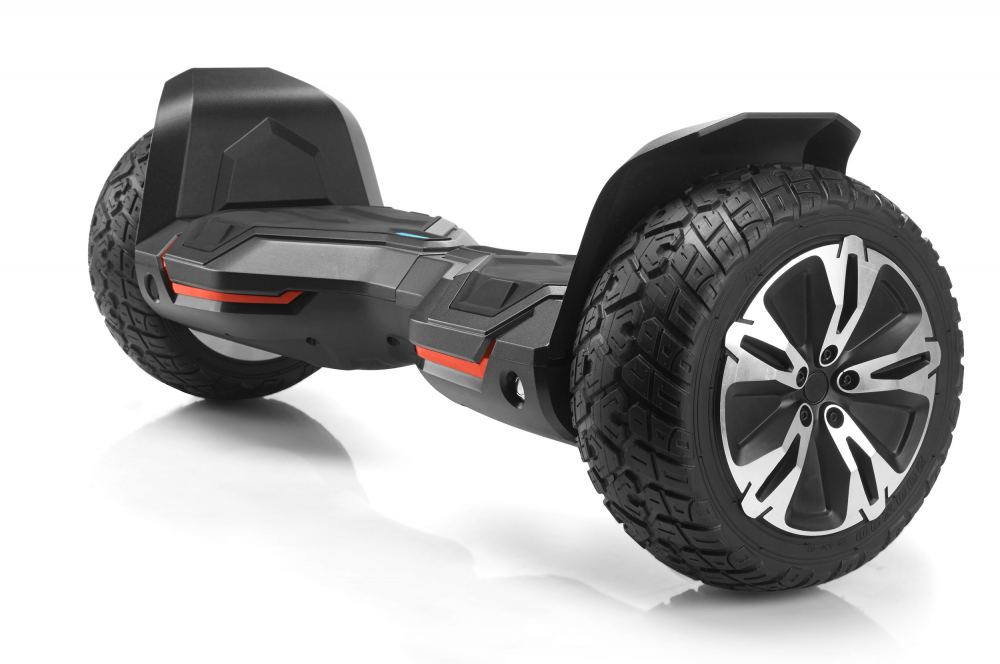 Hoverboard off road puternic original Gyroor G2 Warrior roti 8.5 inch leduri si lumini - 2