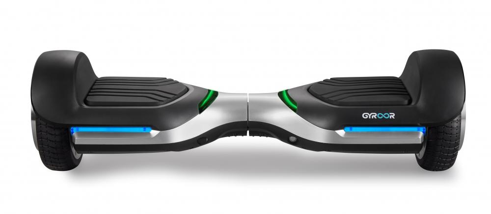 Hoverboard rapid original Gyroor G1 roti de 6.5 inch leduri si lumini