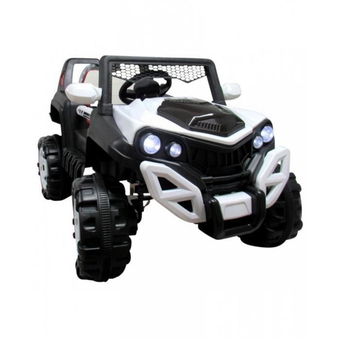 Masinuta electrica cu telecomanda si functie de balansare 4 x 4 Buggy X8 R-Sport alb - 2