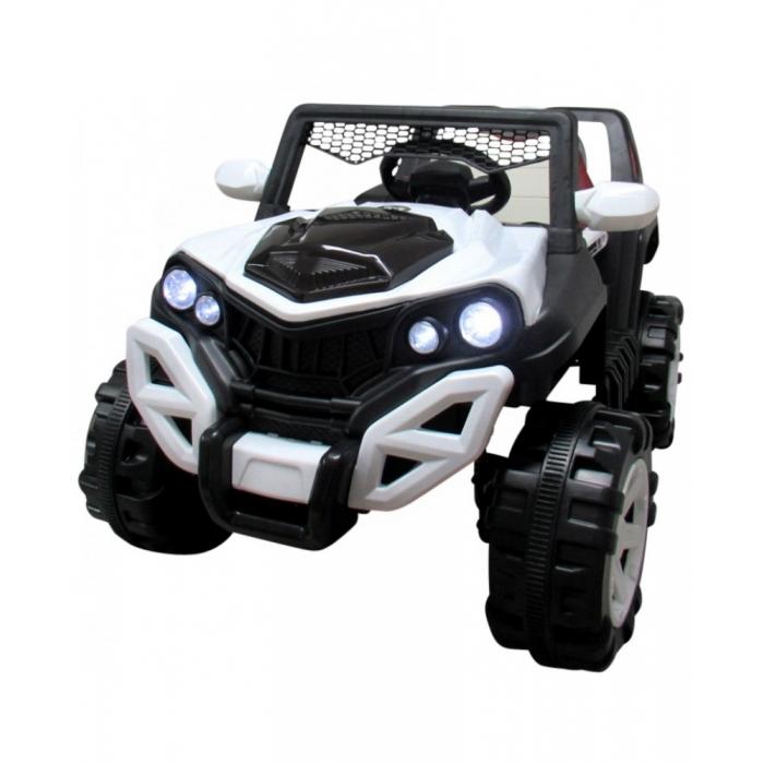 Masinuta electrica cu telecomanda si functie de balansare 4 x 4 Buggy X8 R-Sport alb