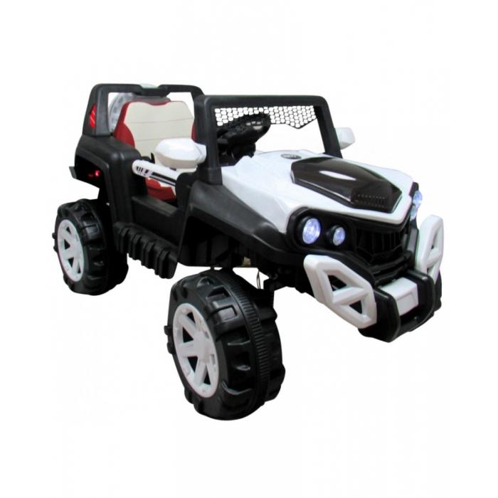 Masinuta electrica cu telecomanda si functie de balansare 4 x 4 Buggy X8 R-Sport alb - 1