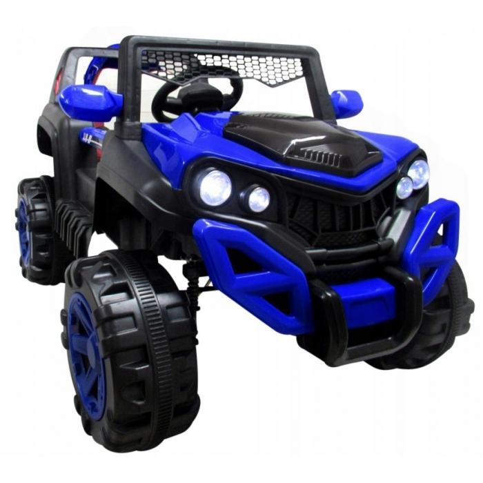 Masinuta electrica cu telecomanda si functie de balansare 4 x 4 Buggy X8 R-Sport albastru - 2