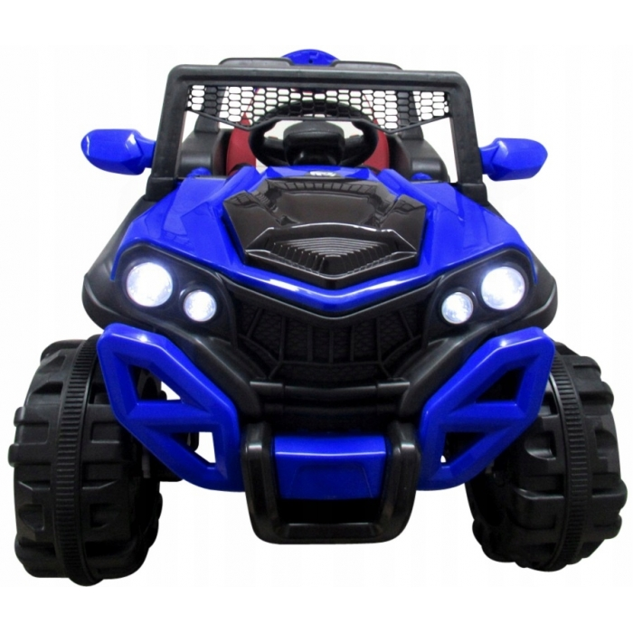 Masinuta electrica cu telecomanda si functie de balansare 4 x 4 Buggy X8 R-Sport albastru