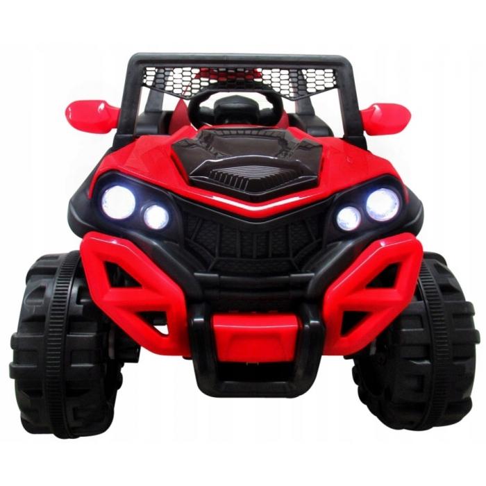 Masinuta electrica cu telecomanda si functie de balansare 4 x 4 Buggy X8 R-Sport rosu