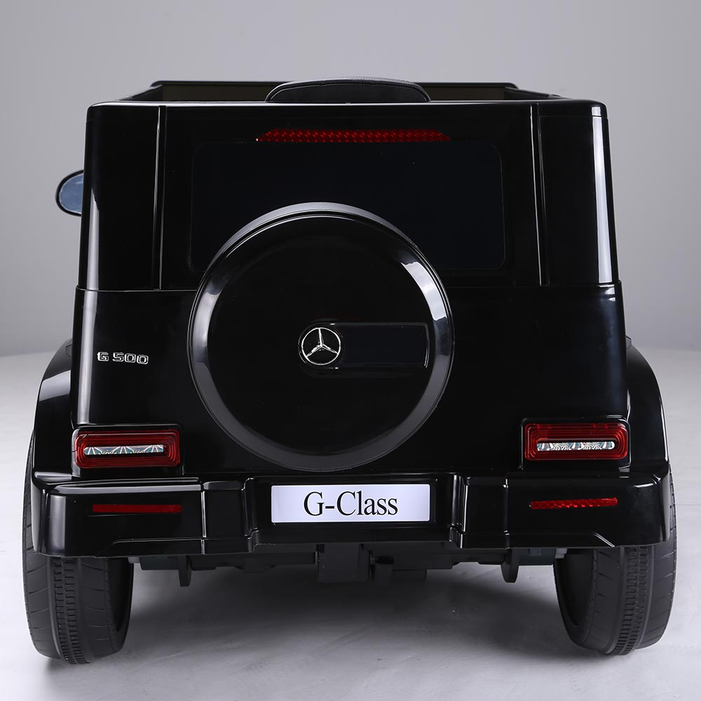 Masinuta electrica pentru copii Mercedes G500 negru