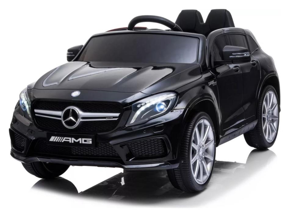 Masinuta electrica cu roti din cauciuc eva Mercedes GLA45 Editie limitata Painting Black - 2