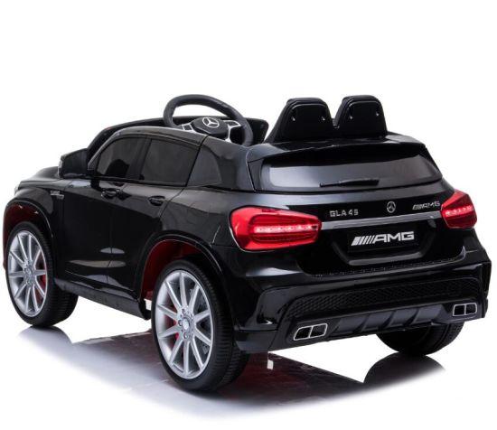 Masinuta electrica cu roti din cauciuc eva Mercedes GLA45 Editie limitata Painting Black - 3
