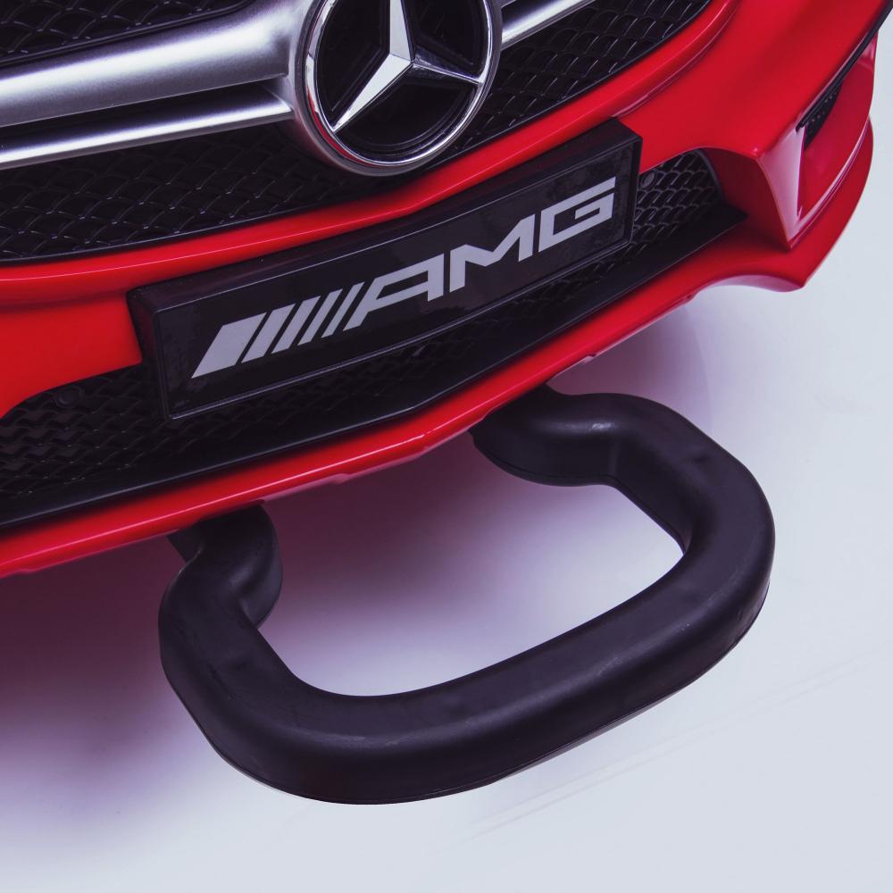Masinuta electrica cu roti din cauciuc eva Mercedes GLA45 Editie limitata Painting Black - 6