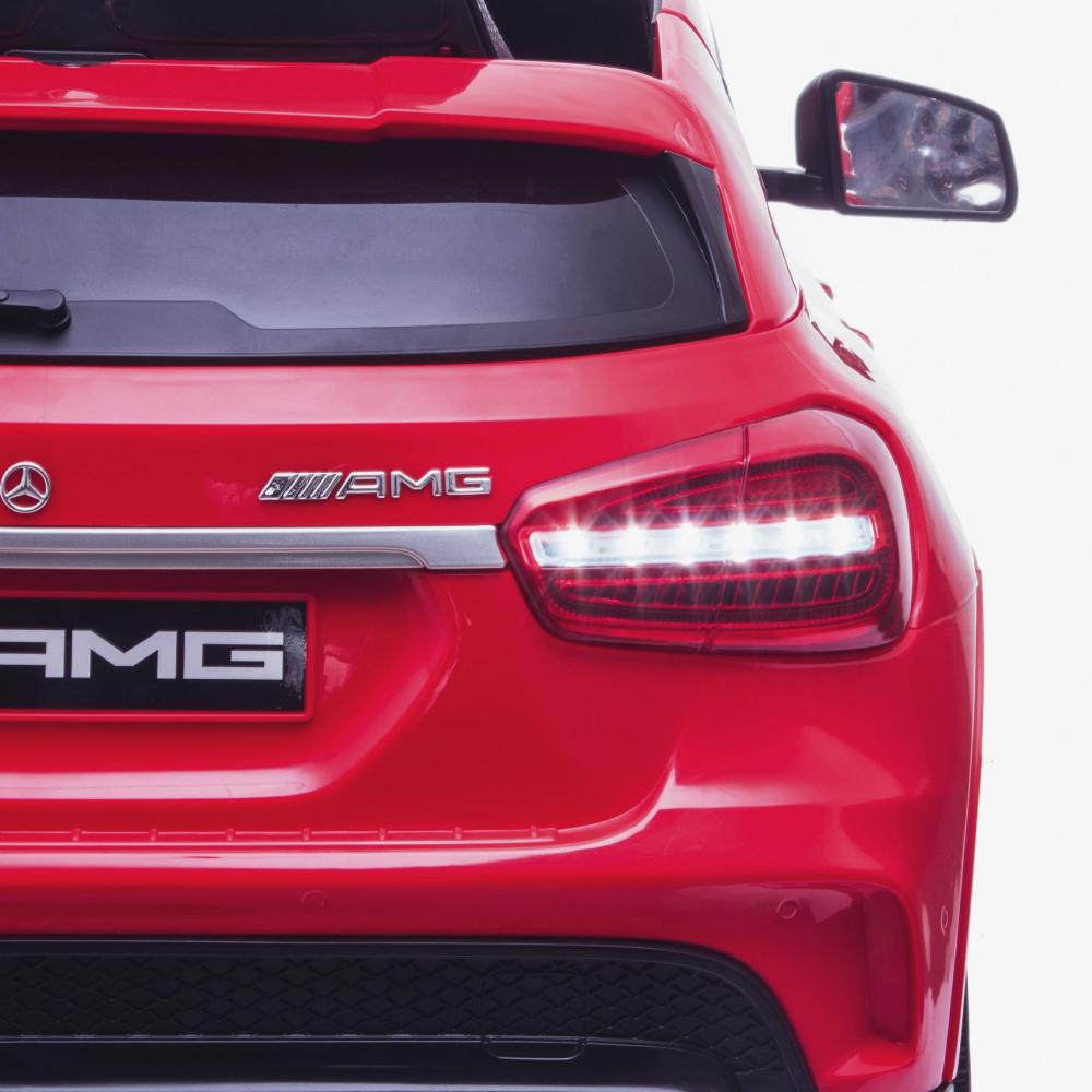 Masinuta electrica cu roti din cauciuc Mercedes GLA45 Editie limitata Painting Red - 3