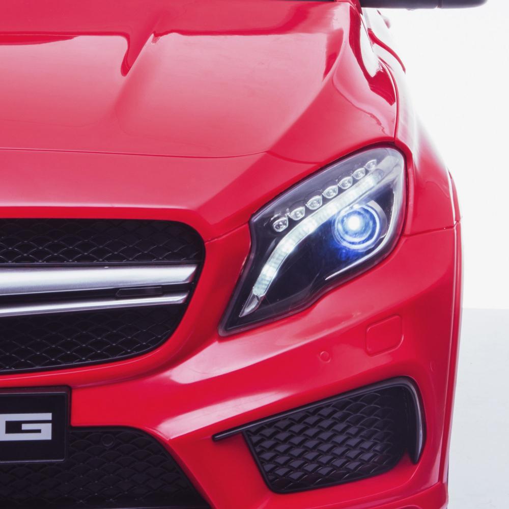 Masinuta electrica cu roti din cauciuc Mercedes GLA45 Editie limitata Painting Red - 4