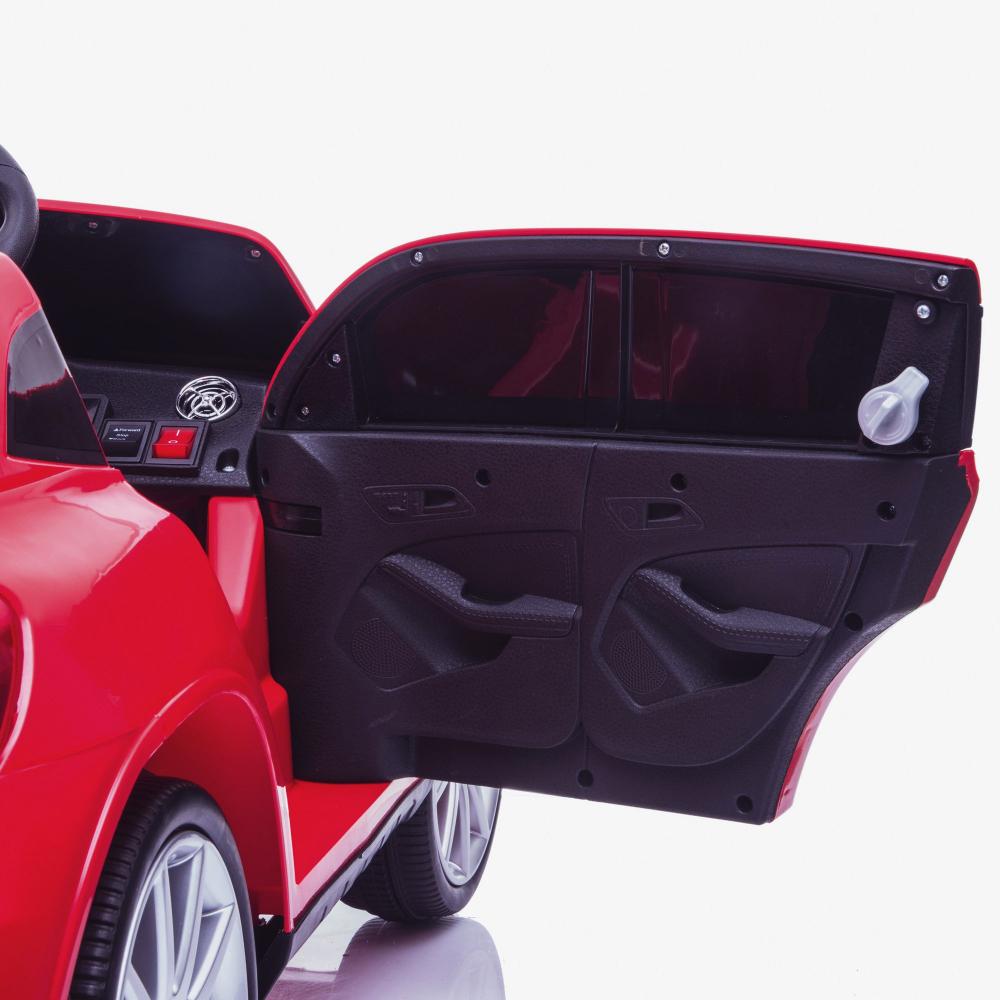 Masinuta electrica cu roti din cauciuc Mercedes GLA45 Editie limitata Painting Red - 6