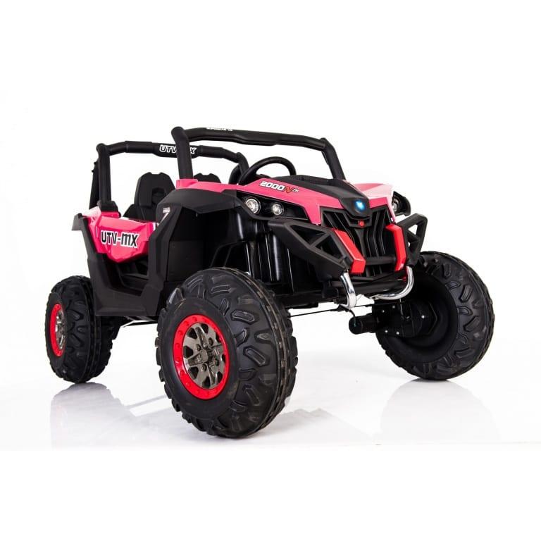 Masinuta electrica cu telecomanda 24V Nichiduta Xtreme Jumper UTV-MX Pink - 4
