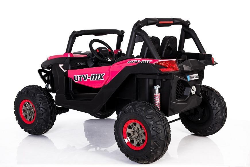 Masinuta electrica cu telecomanda 24V Nichiduta Xtreme Jumper UTV-MX Pink - 5