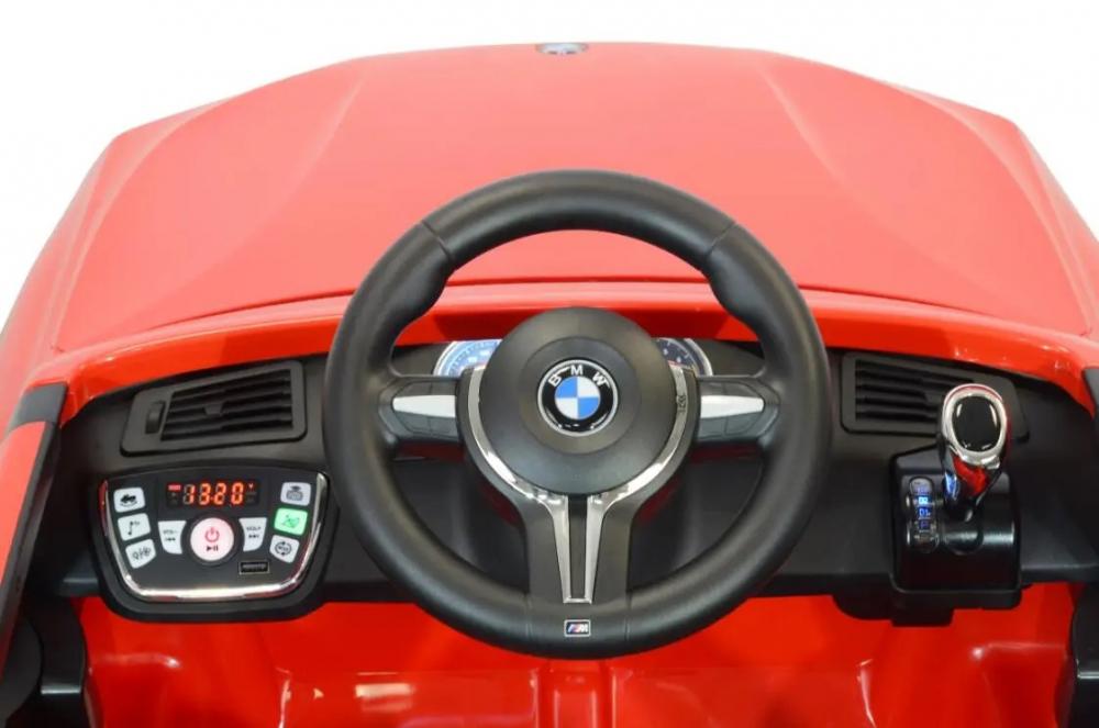 Masinuta electrica cu telecomanda BMW X5 M Blue - 2