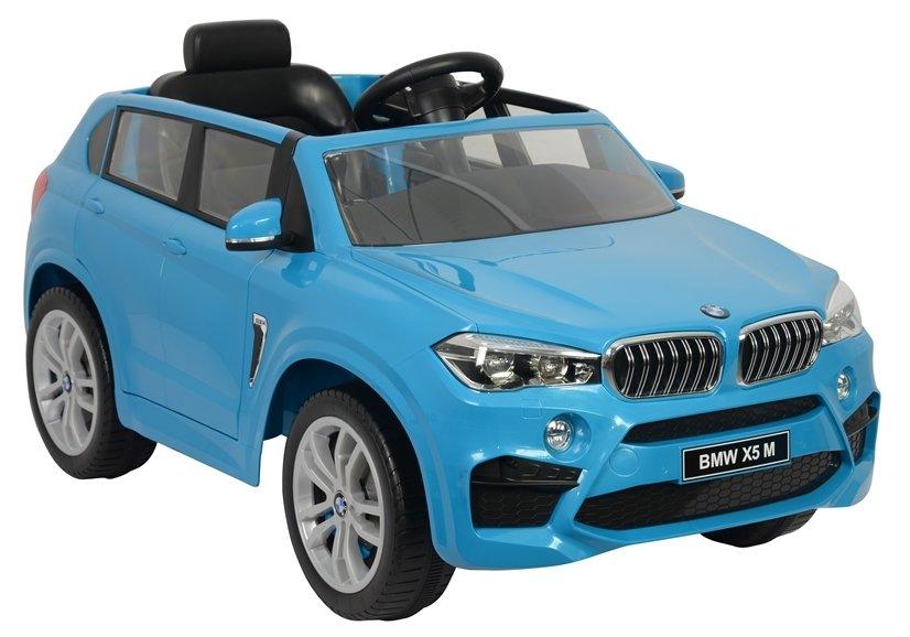 Masinuta electrica cu telecomanda BMW X5 M Blue - 3