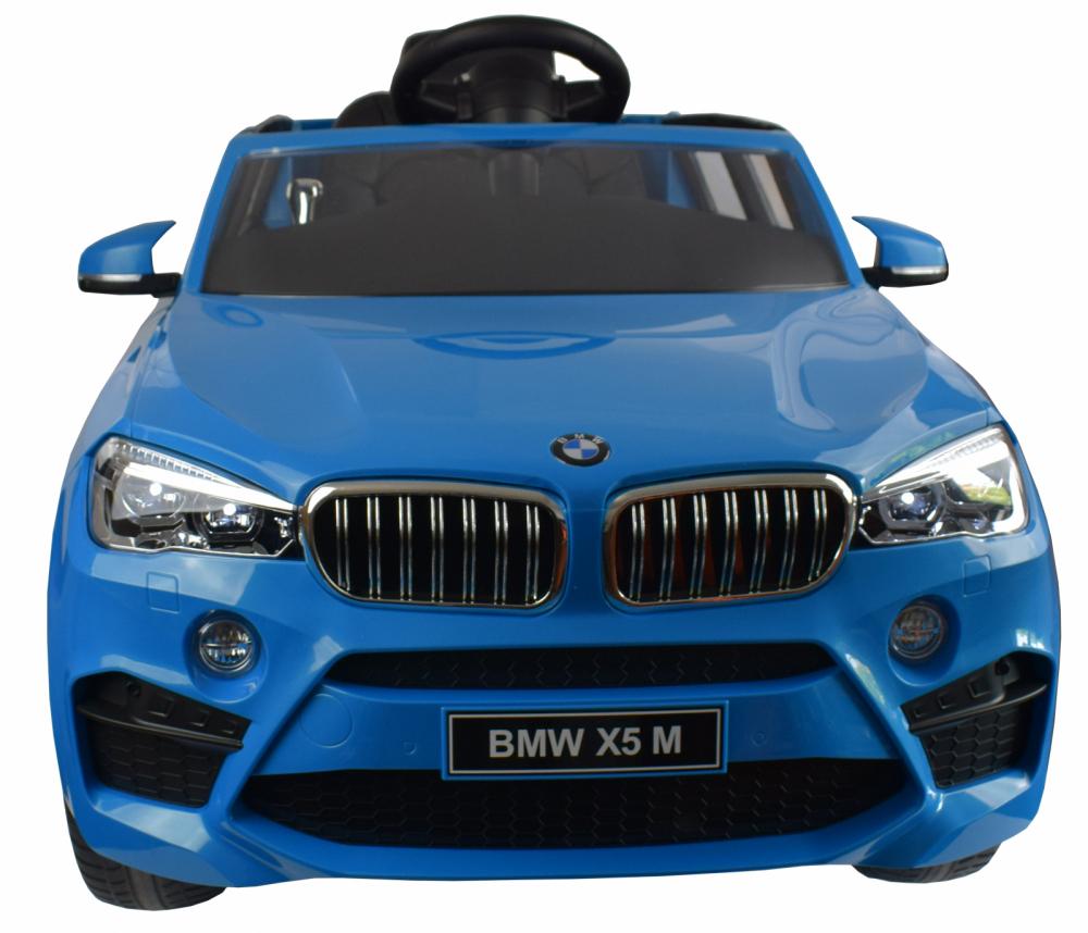 Masinuta electrica cu telecomanda BMW X5 M Blue - 5