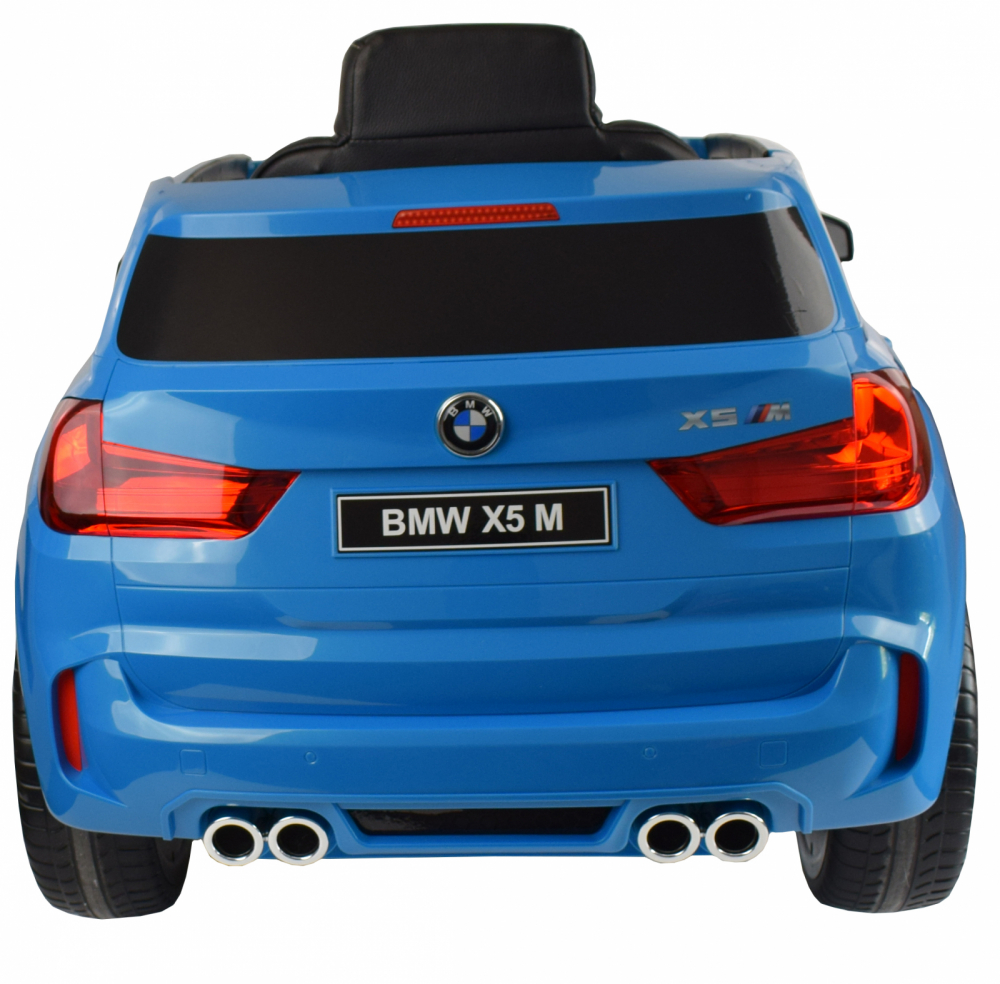 Masinuta electrica cu telecomanda BMW X5 M Blue - 7