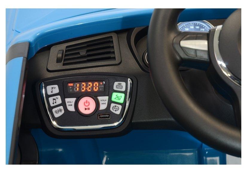 Masinuta electrica cu telecomanda BMW X5 M Blue - 9