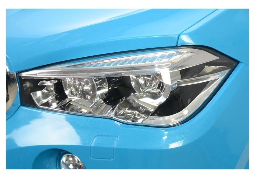 Masinuta electrica cu telecomanda BMW X5 M Blue - 10