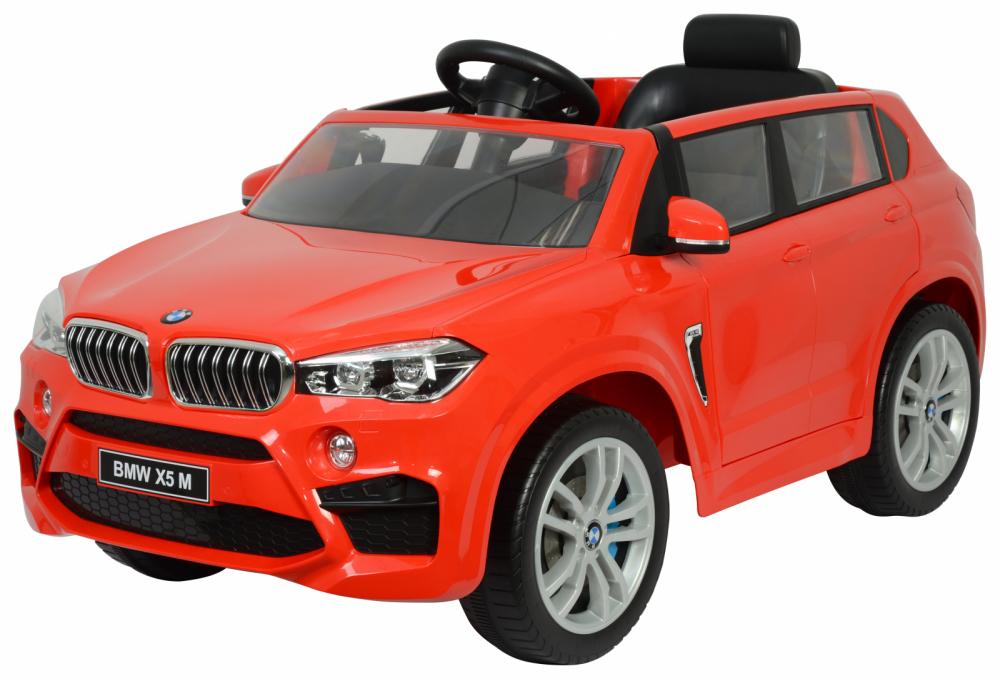 Masinuta electrica cu telecomanda BMW X5 M Red - 9