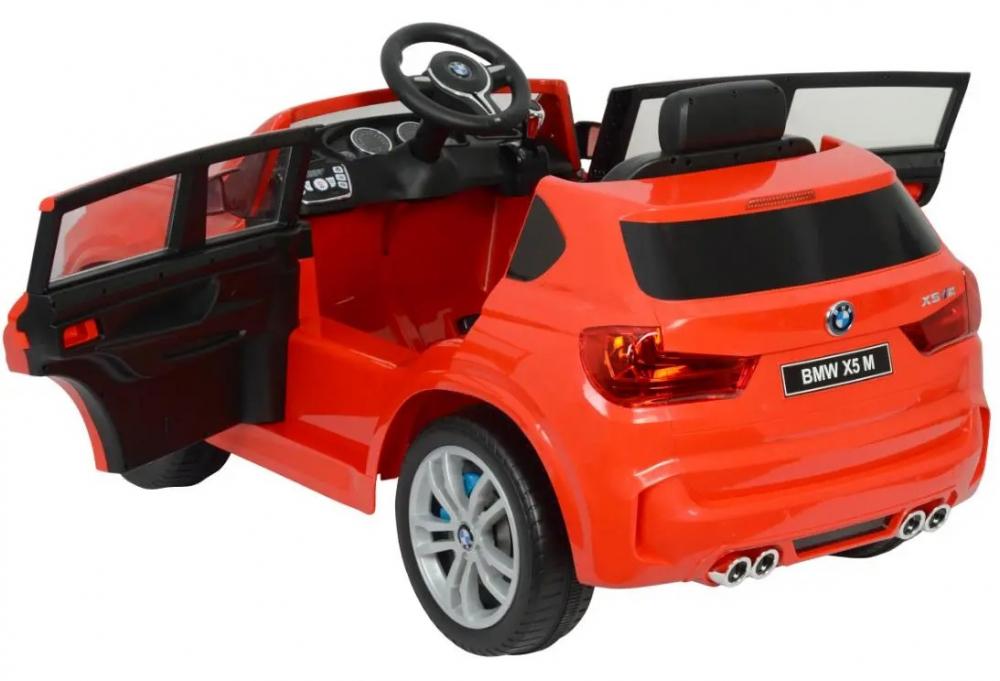 Masinuta electrica cu telecomanda BMW X5 M Red - 3